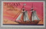 Sellos del Mundo : America : Santa_Lucia : bicentenario revolución de america