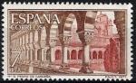 Sellos de Europa - España -  2444 Monasterio de San Pedro de Cardeña. Claustro.
