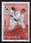 Sellos de Europa - España -  2450  X Campeonato del Mundo de Judo, Barcelona.