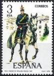 Sellos de Europa - España -  2453 Uniformes. Teniente de Artillería rodada, 1912.