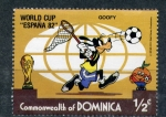 Stamps of the world : Dominica :  Mundial España 82