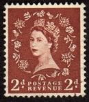 Sellos de Europa - Reino Unido -  Reina Isabel