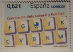 Sellos de Europa - España -  Conciliación Vida Laboral y Familiar