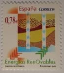 Sellos de Europa - España -  Energía Geotérmica España 2009