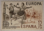 Sellos del Mundo : Europa : España : Baile popular. La jota
