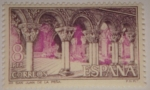 Sellos de Europa - España -  Monasterio San Juan de la Piedra