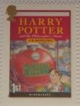 Sellos de Europa - Reino Unido -  Harry Potter and the Philosopher's Stone