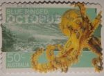 Sellos del Mundo : Oceania : Australia : Blue-ringed octopus