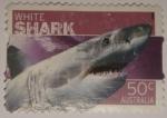 Sellos del Mundo : Oceania : Australia : White shark