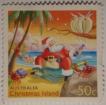 Sellos de Oceania - Australia -  Christmas island
