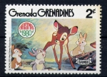 Stamps Grenada -  Bambi