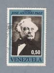 Stamps America - Venezuela -  Jose Antonio Paez