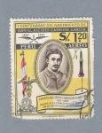 Stamps Peru -  Daniel Alcides Carrion Garcia