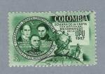 Sellos de America - Colombia -  Semana de la carta con motivo del congreso de la UPU