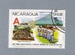 Stamps America - Nicaragua -  Primer aniversario de la cruzada Nacional de Alfabetización
