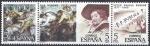 Sellos de Europa - España -  2463/5 Centenario. Pedro Pablo Rubens y