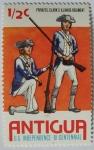 Stamps America - Antigua and Barbuda -  bicenternario independencia U.S.