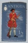 Stamps Antigua and Barbuda -  Coronel Zacarias Tifins, regimiento de a pie, 1701