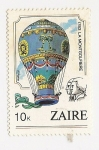 Stamps : Africa : Republic_of_the_Congo :  1783 La Montgolfiere ( Aviation bicentenary)