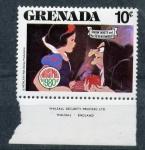Sellos del Mundo : America : Granada : blanca nieves y los siete enanitos
