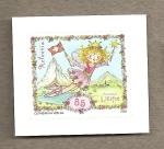 Stamps Switzerland -  Hada con bandera suiza