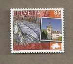 Stamps Switzerland -  Via Salina