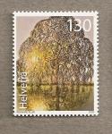 Stamps Switzerland -  Arbol