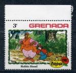 Sellos de America - Granada -  robin hood