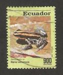 Sellos del Mundo : America : Ecuador : anfibio, rana venenosa