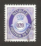 Stamps of the world : Norway :  1195 - Corneta Postal