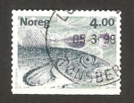 Stamps Norway -  pez, bacalao