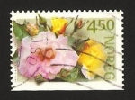 Stamps Norway -  rosas