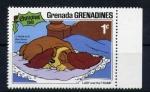 Sellos de America - Granada -  La Dama y el vagabundo