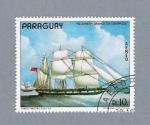 Sellos de America - Paraguay -  Elizabeth Grange en Liverpool