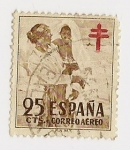 Stamps of the world : Spain :  Pro-tuberculoso
