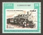 Sellos del Mundo : America : Cuba : establecimiento ferrocarril en Cuba