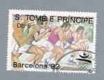 Stamps São Tomé and Príncipe -  Barcelona'92