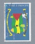Sellos del Mundo : Africa : Santo_Tomé_y_Principe : 20 Aniv. de la Independencia
