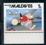 Stamps Asia - Maldives -  Alicia en el país de las maravillas