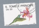 Sellos del Mundo : Africa : Santo_Tomé_y_Principe : Petasophores Anaïs