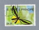 Stamps São Tomé and Príncipe -  Mariposas Papilio Paradiesa