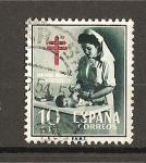 Sellos de Europa - España -  Pro-Tuberculosos.