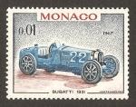 Sellos del Mundo : Europa : Mónaco : coches
