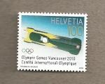 Stamps Switzerland -  Juegos Olímpicos Invierno Vancouver 2010