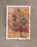 Stamps Switzerland -  Europa
