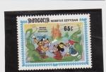 Stamps Asia - Mongolia -  Mickey y las abichuelas magicas