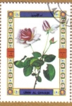 Stamps Asia - Saudi Arabia -  Flores