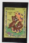 Stamps America - Antigua and Barbuda -  Pascua