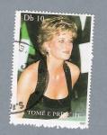 Sellos del Mundo : Africa : Santo_Tomé_y_Principe : Princesa Diana de Gales