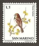 Sellos del Mundo : Europa : San_Marino : pajaros